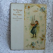 "SALE Circa 1900 decorative book ""The Voyage of the Mary Adair"" ~ Nister"