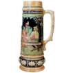 Large German Stoneware Stein