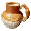 Salt Glaze Hound-Handle Pitcher