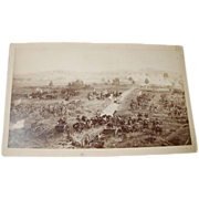 REDUCED Civil War Battle Scene Picture
