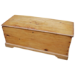Antique Pine Blanket Chest/Trunk