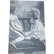 1913 Shoe Store Advertising Invitational Postcard