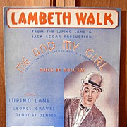 Lambeth Walk /Me and My Girl� 1937