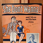 She Don�t Wanna � 1927