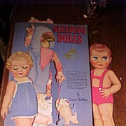 "REDUCED Paper Dolls by Queen Holden ""Sleeping Dolls"""