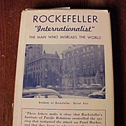 "REDUCED Rockefeller ""Internationalist"" The Man Who Misrules The World"