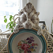 Firenze Italy Plaque/Dish With Lion