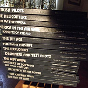 Set of 16 Time/Life Books On Airplanes