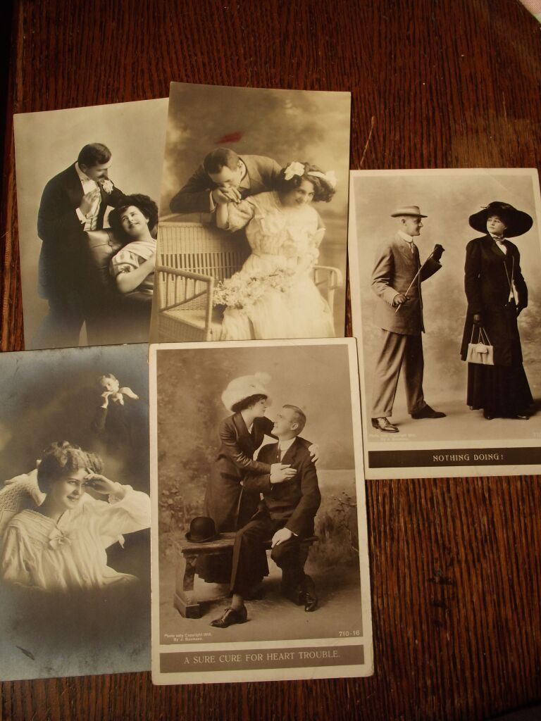 Victorian Lady Post Cards