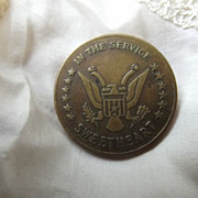 World War 11 Sweetheart Pin