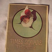 Art Deco Times Square Theatre Program