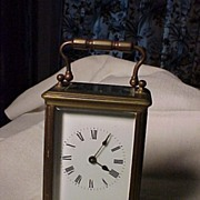REDUCED English Carriage Clock