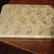 Brocade Case For Trinkets