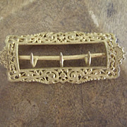 Fancy Victorian Buckle