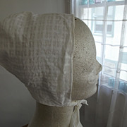 Cotton Bonnet