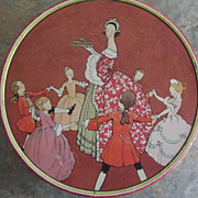 Lovely Vintage Biscuit Tin