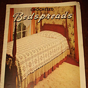 Vintage Bedspread Pattern Book