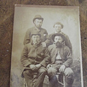 CDV Of Four Men