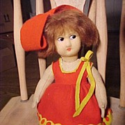 REDUCED Cute Little Lenci Type Doll