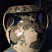 REDUCED Art Nouveau Royal Bonn Vase
