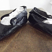Black &quot;Sorosis&quot; Shoes, Salesman's Sample or Dolls