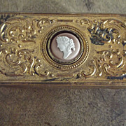 Vintage Copper  or Brass Box