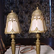 Pair of Vintage Lights