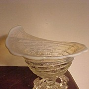 REDUCED Unusual Opalescent Candy Dish