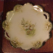 REDUCED Elegant R.S. Prussia Cake Plate