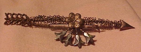 Victorian Handmade Large Pin