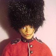 Peggy Nisbet Guardsman Doll