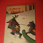 Tuck Christmas Postcard