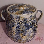 REDUCED Old Dan Mercer Spongeware Jug