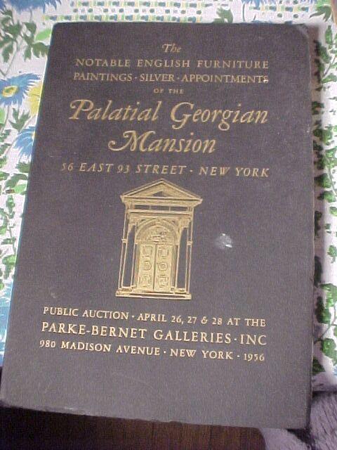 PARKE-BERNET AUCTION CATALOGUE LOT !!! - 1962  ( 28 in TOTAL)