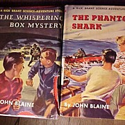 Set of Two John Blaine Boy's Books
