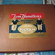 "Vintage Game ""Joe Hamilton's Pigskin"""
