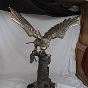 REDUCED Japanese Iron Large Eagle