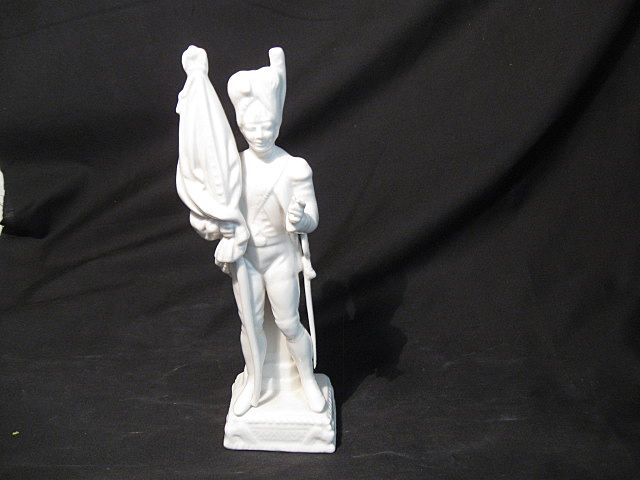 German Porcelain Soldier-As Is