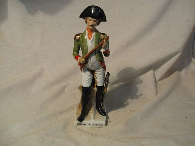 Hand Painted Porcelain Soldier