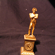 REDUCED Antique Dore Bronze Napoleon Statue