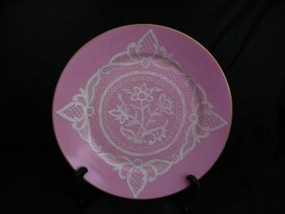 Porcelain Lace Applique Plate