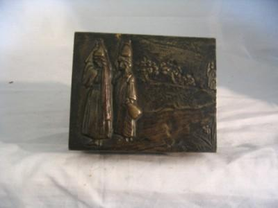 European Bronze Trinket Box-Old