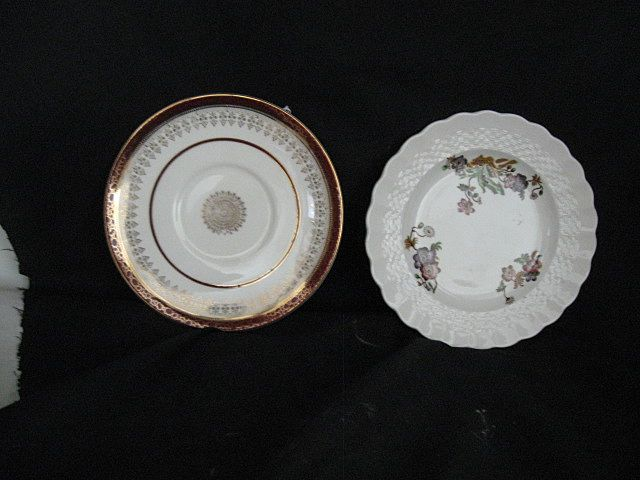 Two English China Plates