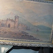 REDUCED Antique Oil Painting On Artist Board