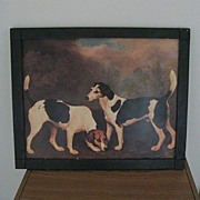 REDUCED Framed Dog Print