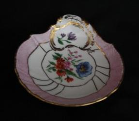 European Porcelain Pin Dish-Old