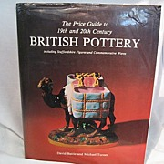 SALE Price Guide To 19th & 20th Century British Pottery""