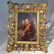 REDUCED 19th Century Fine Quality Oil On Porcelain-Signed