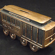Streetcar named Desire Still Bank in bronzed spelt metal