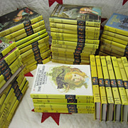 Nancy Drew Complete 56 Volume Set Yellow Picture Cover Hardbacks
